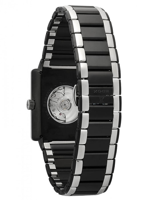 Edox Men's 82005 357N NIN Les Bemonts Rectangular Automatic Watch
