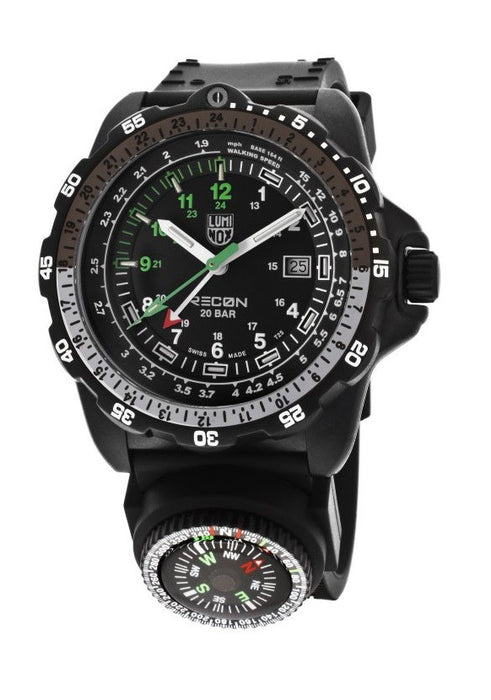 Luminox Men's A.8832.MI Recon Analog Display Quartz Black Watch
