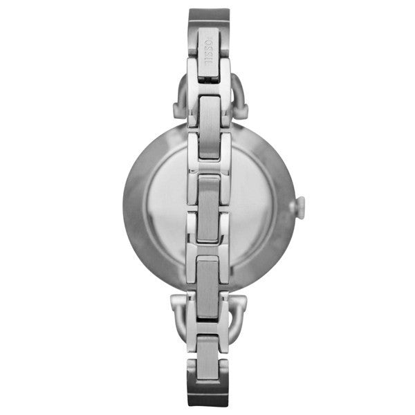 Fossil Georgia Glitz Three Hand Stainless Steel Watch Es3225