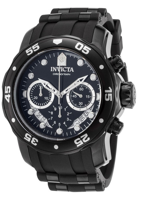 Invicta Men's 21930 Pro Diver Collection Chronograph Black Watch