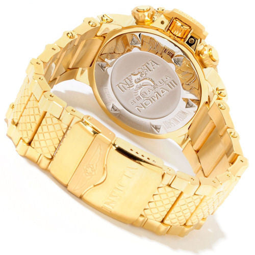 Invicta 5403 Men's Subaqua Chronograph Yellow Gold Tone Stainless Steel