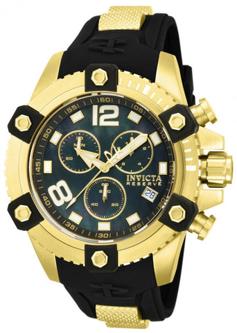 INVICTA 80361 Yellow Gold Arsenal Reserve Chronogpaph Swiss
