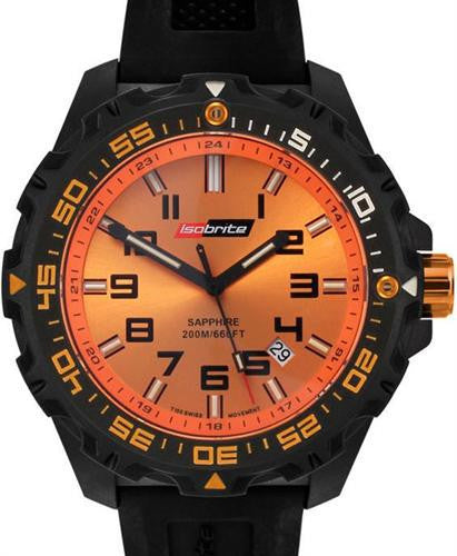Isobrite Valor Series Orange T100 Tritium Watch ISO302