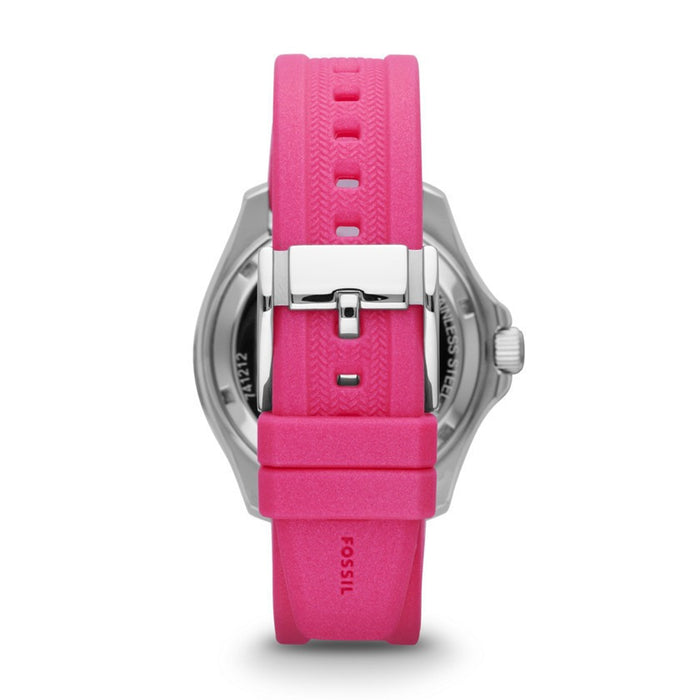 Fossil AM4488 Cecile Multifunction Silicone Watch - Pink