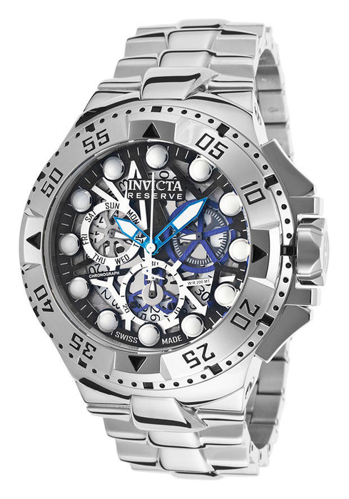Invicta 15978 Men's Excursion Reserve Stainless Steel Multi-Color Skeletonized Dial