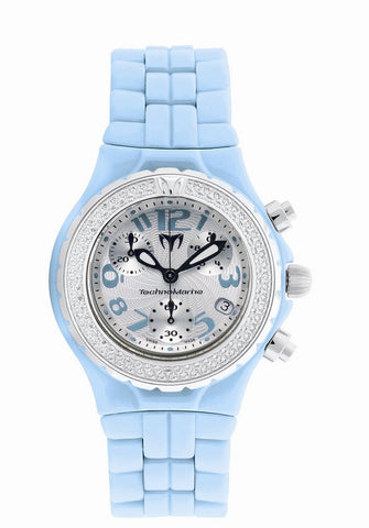 TechnoMarine Women's DTLCCSB11C MoonSun Diamond Ceramic Chrono Watch