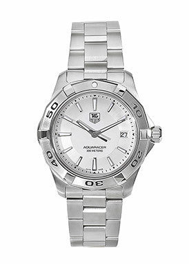 Men's Aquaracer Silver Dial Stainless Steel Bracelet