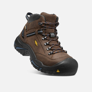Keen Braddock Leather Safety Steel Toe Bison