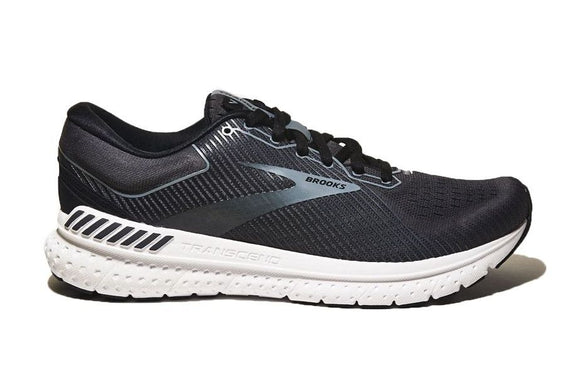 Brooks Men's Transcend 7 Black Grey