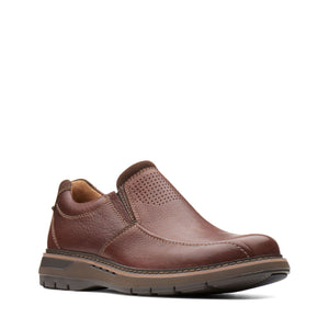 Clarks Unstructured Un Ramble Step Mahogany Brown