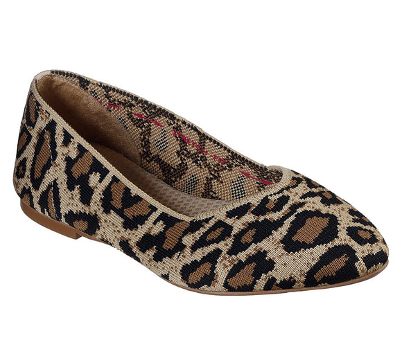 Skechers Cleo Claw Some Natural Leopard