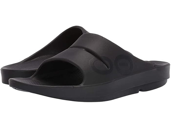 OOFOS Women's OOAHH Slide Black