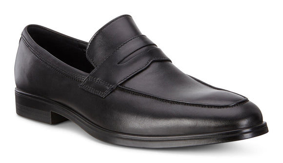 Ecco Melbourne Penny Loafer Black