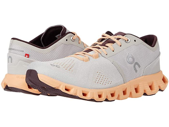 On Running Women's Cloud X Silver Almond