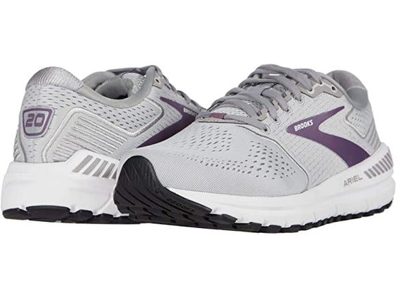 Brooks Women's Ariel 20 Grey purple