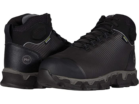 Timberland Pro Powertrain Sport Alloy Safety Toe Internal Met Guard Black