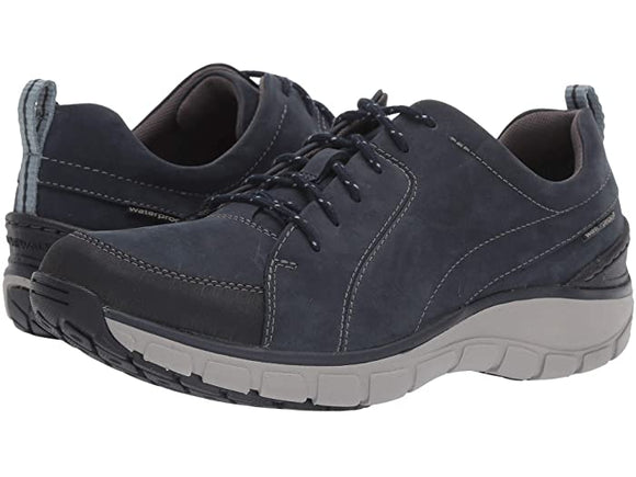 Clarks Wave Go Waterproof Navy