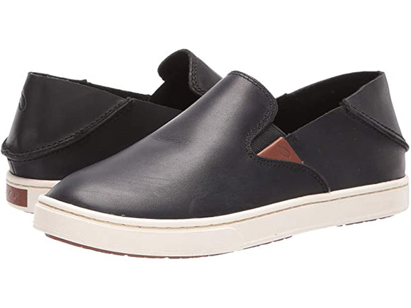 Olukai PEHUEA Leather Black