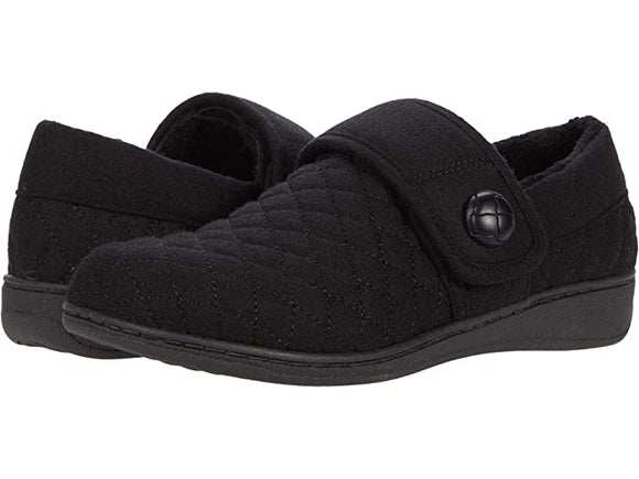 Vionic Women's Jackie Black Slip On Slipper