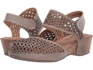 Spring Step Women's Poppiri Grey Taupe