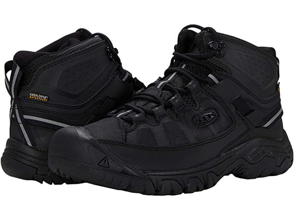 Keen Men's Targhee Exp Mid Waterproof Black