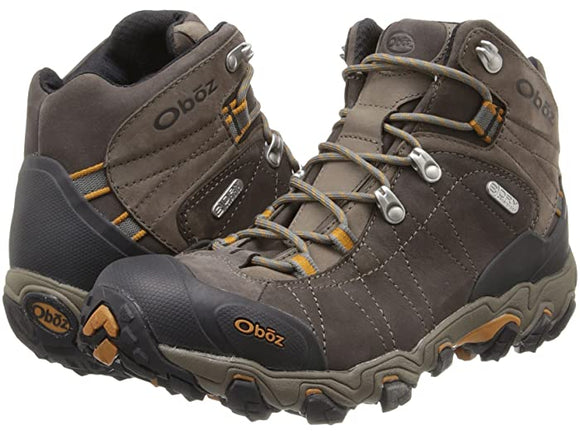 Oboz Men's Bridger Mid BDRY Sudan Brown