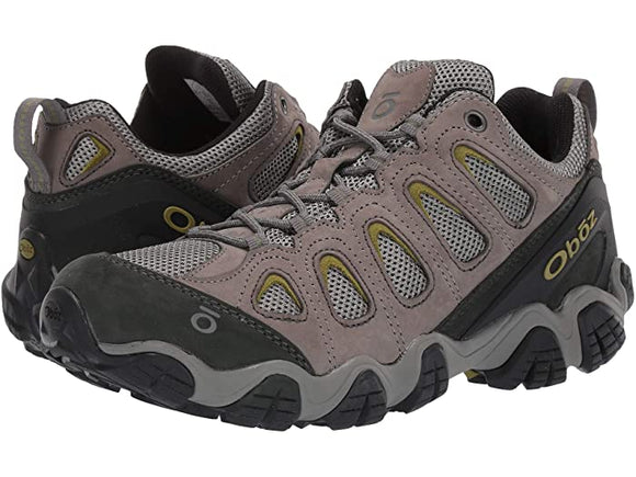Oboz Men's Sawtooth II Low Pewter