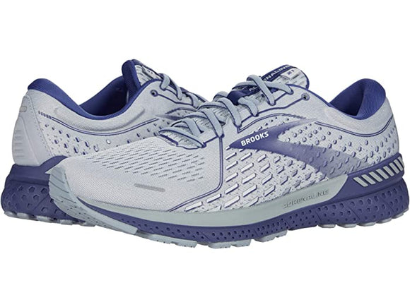 Brooks Men's Adrenaline GTS 21 Grey Cobalt Blue