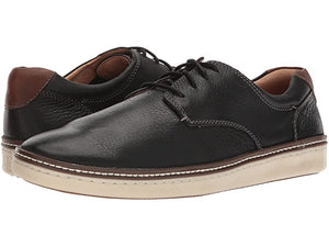 Johnston & Murphy McGuffey Casual Plain Toe Black