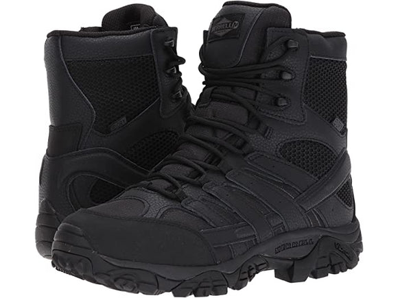 Merrell Work Moab 8 Inch Tactical Inside Zip Waterproof