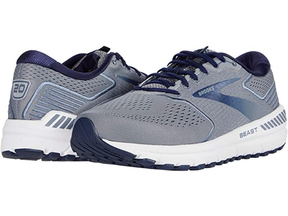 Brooks Men's Beast 20 Grey Blue