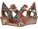 Naot Fiona Cheetah Red