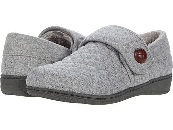 Vionic Women's Jackie Light Grey Slip On Slipper
