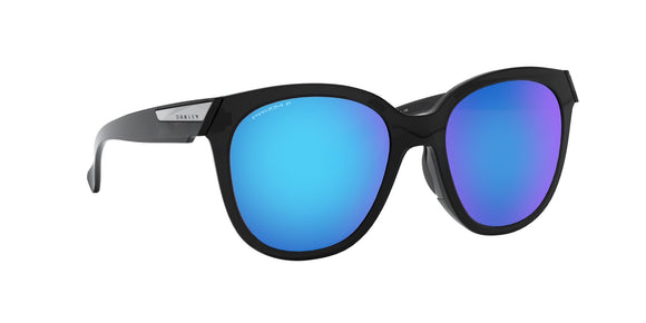 Oakley Women's Low Key Black Ink Prizm Sapphire Polarized