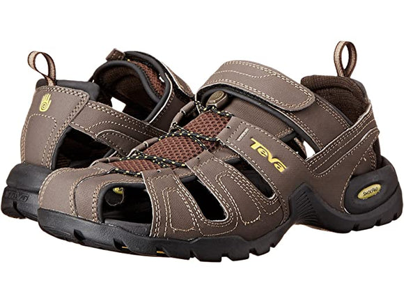 Teva Forebay Turkish Coffee Closed Toe Sandal