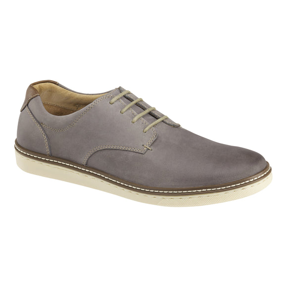 Johnston & Murphy McGuffey Casual Plain Toe Grey