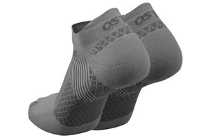 Os1st FS4 Plantar Fasciitis No Show Compression Socks Grey