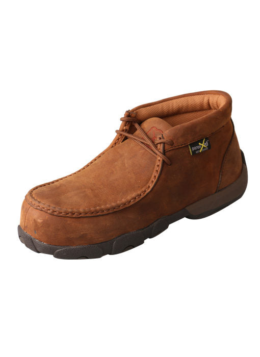 Twisted X Women's Moc Met Guard Chukka Boot Brown