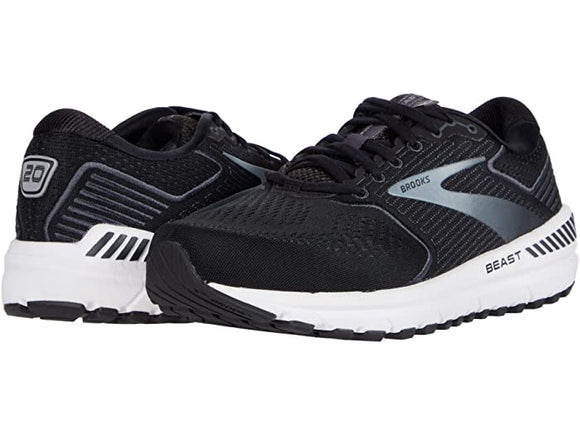Brooks Men's Beast 20 Black Grey