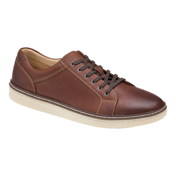 Johnston & Murphy McGuffey Casual Lace to Toe Tan