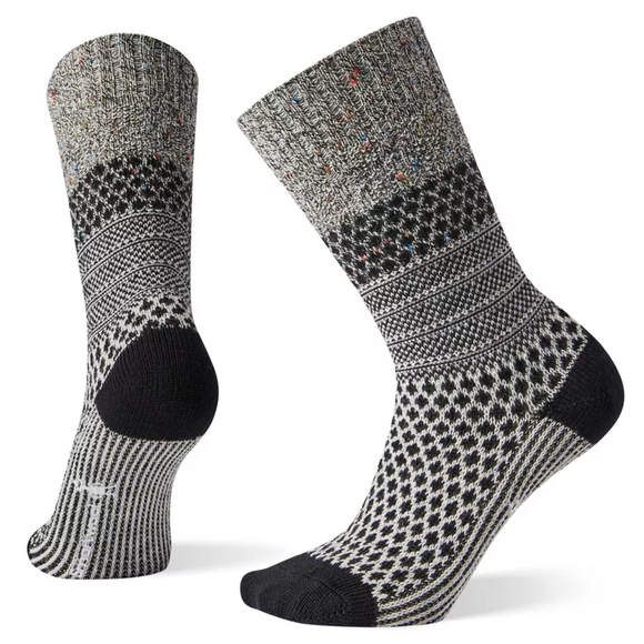 Smartwool Women's Popcorn Cable Black-Multi Socks