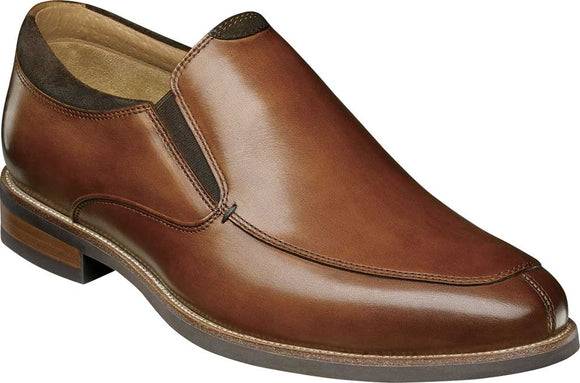 Florsheim Uptown Moc Toe Slip On Cognac Brown