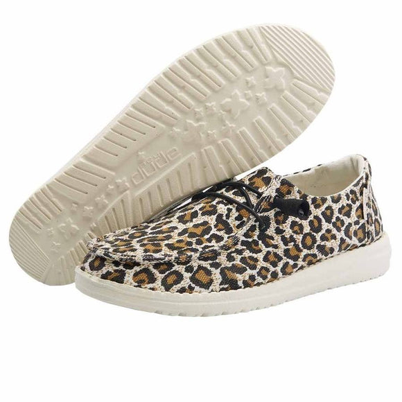 Hey Dude Women's Wendy Cheetah