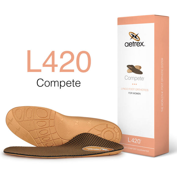 Aetrex L420 Women's Compete Posted Orthotics