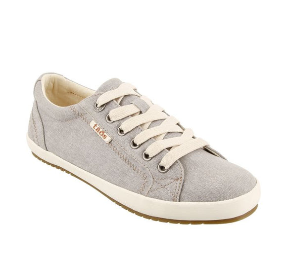 Taos Star Grey Wash Canvas