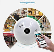 Wireless Security Light Bulb Camera