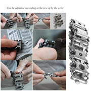 29 Multi-Tool Bracelet Leatherman Tread Style