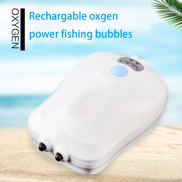 Rechargable Oxgen Power Fishing Bubbles
