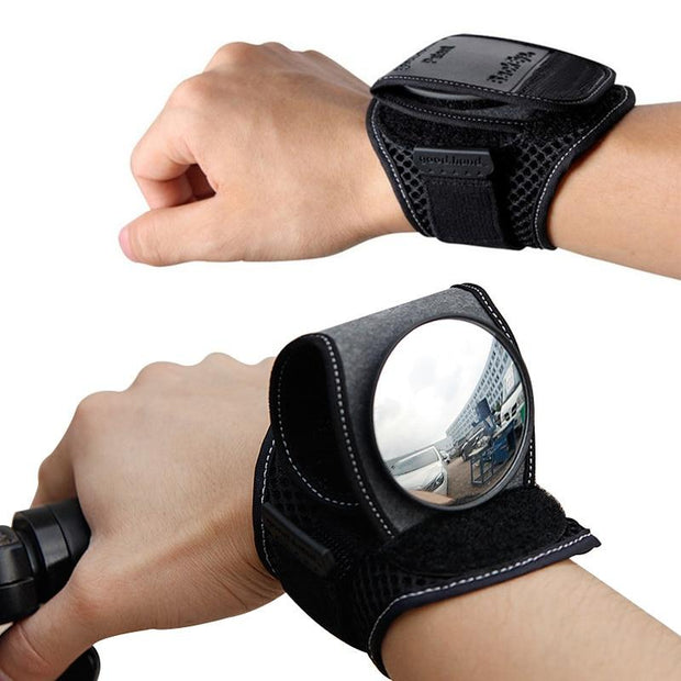 Bicycle Wrist Safety Rear View Mirror