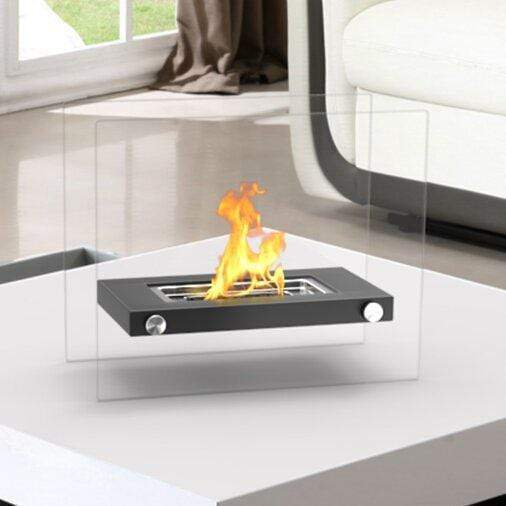 Portable Bio Ethanol Tabletop Fireplace